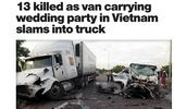 Nhiều báo nước ngoài đưa tin về tai nạn thảm khốc ở Quảng Nam khiến 13 người thiệt mạng