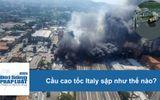 Tin thế giới - Video cầu cao tốc Italy sập như thế nào?
