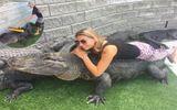 """Tin tức - Video: Điều ít biết về cô gái có sở thích """"chăm sóc cá sấu"""""""