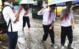 Tin trong nước - Học sinh Hà Nội có thể nghỉ học, lùi giờ tới trường vì ảnh hưởng của bão số 4