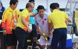 Tin tức - Tiền vệ Đỗ Dũng Hùng nhập viện ngay trong trận đấu với Olympic Nhật Bản