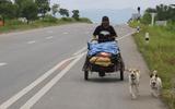 Cảm động người đàn ông đi bộ hơn 1.500 km để thực hiện lời hứa với bạn gái
