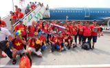 Vietnam Airlines bố trí chuyến bay riêng đón đoàn thể thao Việt Nam về nước