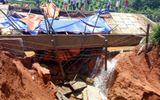 Hoà Bình: Lo vỡ đập hồ điều tiết nước, người dân hoang mang