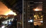 Thực hư việc sân bay quân sự của Syria bị tấn công bằng tên lửa?