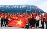 Tiết lộ thú vị trên chuyến chuyên cơ chở đội tuyển Olympic Việt Nam về nước