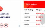 "Kết quả xổ số Vietlott hôm nay 5/9/2018: Hồi hộp xem Jackpot hơn 22 tỷ chơi ""trốn tìm"""