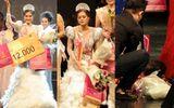 Sức khỏe suy kiệt, người đẹp Việt ngất xỉu khi vừa đăng quang hoa hậu