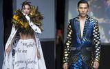 Cặp đôi mẫu Việt Ngọc Tình - Diệu Huyền tỏa sáng trên sàn diễn thời trang New York