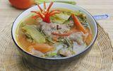 Món ngon mỗi ngày: Cách nấu canh dưa chua thịt bò cho ngày chán cơm