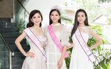Tin tức - Top 3 Hoa hậu Việt Nam 2018 liên tục thay trang phục, tất bật đi giao lưu