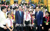Tin tức - Chủ tịch nước Trần Đại Quang luôn dành tấm lòng yêu thương cho thiếu niên, nhi đồng