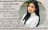 Tin tức - Lộ bảng điểm tốt nghiệp THPT có cả điểm 10 của Hoa hậu Lê Âu Ngân Anh