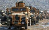 Tin thế giới - Đoàn xe quân sự của Thổ Nhĩ Kỳ ồ ạt tiến vào Idlib, Syria