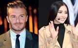 David Beckham cùng Hoa hậu Tiểu Vy dự lễ ra mắt VinFast tại Paris Motor Show