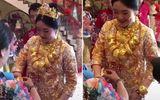 Tin tức - Cô dâu trĩu cổ cả yến vàng trong ngày cưới gây xôn xao ở Trung Quốc
