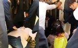 Tin tức - Mẹ mải dùng điện thoại, con ngã sấp mặt xuống đường ray tàu cũng không biết