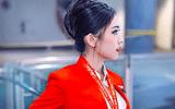 """Tin tức - Ngắm vẻ đẹp """"như trong tranh bước ra"""" của nữ tiếp viên hàng không Air Asia"""