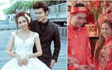 Chuyện làng sao - Đám cưới trái ngược nhau của Phương Hằng (Gạo Nếp Gạo Tẻ) trên phim và đời thực
