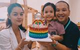 Phạm Quỳnh Anh - Quang Huy rạng rỡ hội ngộ trong sinh nhật con gái Bella