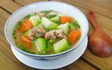 Món ngon mỗi ngày: Canh sườn nấu su hào đơn giản, vô cùng dễ ăn