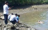 Phát hiện thi thể đang phân hủy trôi trên sông Cỏ May