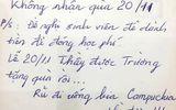 Tin tức - Dân mạng truy tìm danh tính thầy giáo dễ mến, tuyên bố không nhận quà 20/11