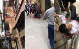 """Video: Vây bắt tên trộm leo tường tẩu thoát như """"người nhện"""" ở Hà Nội"""