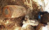 Ninh Thuận: Phát hiện 2 quả bom nặng gần 500kg