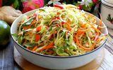 Món ngon mỗi ngày: Bắp cải muối xổi ăn liền cực đơn giản