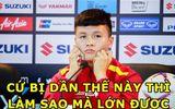 """Ảnh chế Việt Nam vào chung kết AFF Cup 2018: Quang Hải, Đình Trọng """"chiếm sóng"""""""