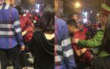 """Nam thanh niên bị đâm thấu lưng khi đi """"bão"""" ở Hà Nội"""