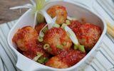 Tin tức - Món ngon mỗi ngày: Thịt viên bọc trứng cút sốt cà chua