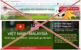 Tin tức - Phát hiện website giả mạo bán vé online chung kết Việt Nam vs Malaysia