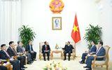 Tin tức - Thủ tướng tiếp Bộ trưởng Tư pháp Lào