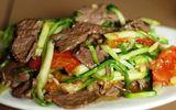 Tin tức - Món ngon mỗi ngày: Thịt bò xào rau cần giòn ngon