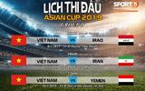 Tin tức - Những thông tin quan trọng về Asian Cup 2019: Sau 10 năm Việt Nam mới lại được tham dự