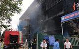 Video: Hiện trường vụ cháy công trình trong trường cấp 2 Nhật Tân, Hà Nội