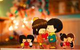 """Giáng sinh lãng mạn, ngọt ngào qua những lời chúc dành cho """"gấu"""" của các chàng trai"""