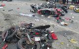 """Vụ container gây tai nạn kinh hoàng ở Long An: Anh xe ôm """"vứt"""" xe máy lao ra đường cứu người"""
