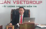 Chủ tịch VSet Group - Ông Trương Ngọc Anh trả lời phỏng vấn đài  truyền hình
