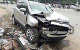"""Video: Hiện trường xe ô tô """"điên"""" đâm hàng loạt xe máy, 2 vợ chồng chết thảm"""