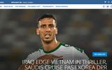 """FIFA ví trận Việt Nam - Iraq như """"phim kinh dị"""""""