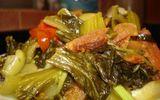 Món ngon mỗi ngày: Dưa chua xào tóp mỡ ngon xuýt xoa cho ngày lạnh