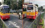 Video: Xe buýt ngang nhiên chạy ngược chiều ở Thái Nguyên