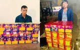 Xã hội - Thanh Hóa: Bắt quả tang 18 hộp pháo đang trên đường đưa đi tiêu thụ