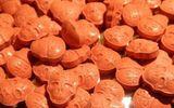 Hà Nội: Phát hiện bưu phẩm từ Hà Lan chứa 49 viên nén màu xám, hình sọ người nghi ma túy
