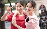 Tin tức - Chị em Nam Anh - Nam Em khoe nhan sắc rạng rỡ xuống phố mùa xuân