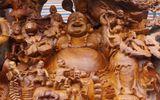Tin tức - Pho tượng Phật Di Lặc từ gỗ xá xị khổng lồ tại Thanh Hóa được chào giá 1,2 tỷ đồng