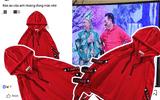 """Áo đỏ """"đi bão"""" của Ngọc Hoàng được cư dân mạng lùng sục ráo riết"""